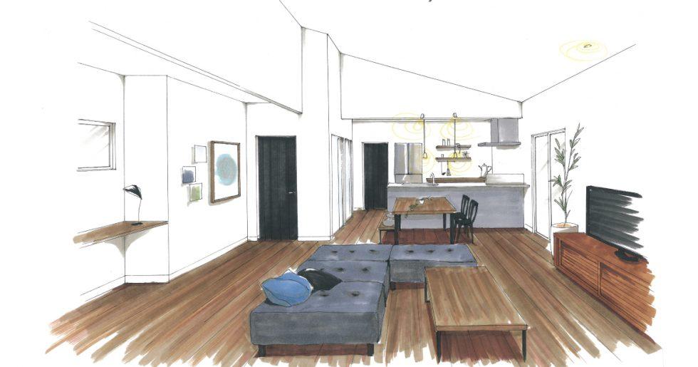 トータルハウジング | スキップキッチンから成長を見守る家 新築発表会【鹿児島市】