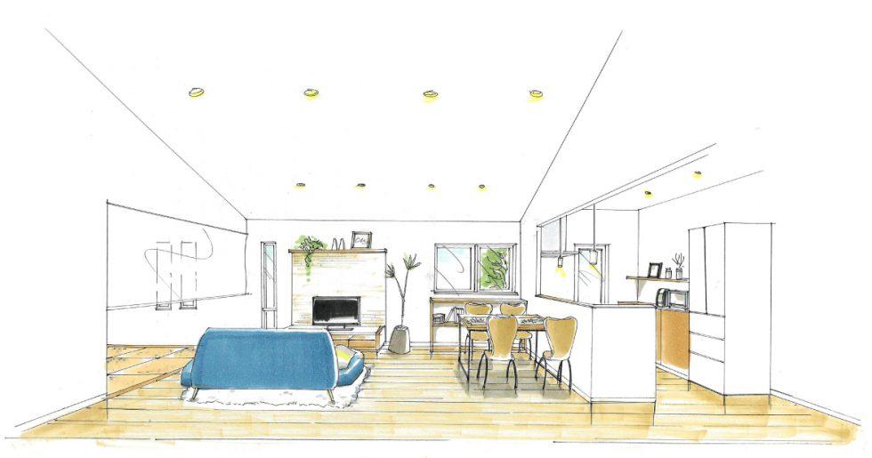 トータルハウジング | キッチンを中心としたつながりのある平屋のお家 新築発表会 【鹿児島市】