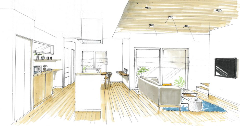 生活しやすい動線を考えた中2階のあるお家 平屋新築発表会 【霧島市】