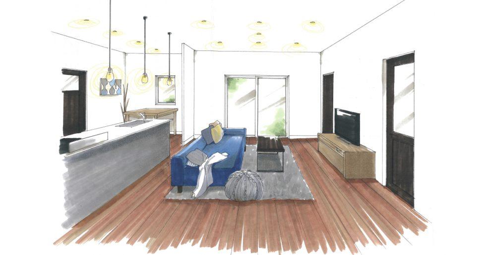 延床面積約30坪に全ての希望を叶えた理想的な平屋 新築発表会 【鹿児島市】