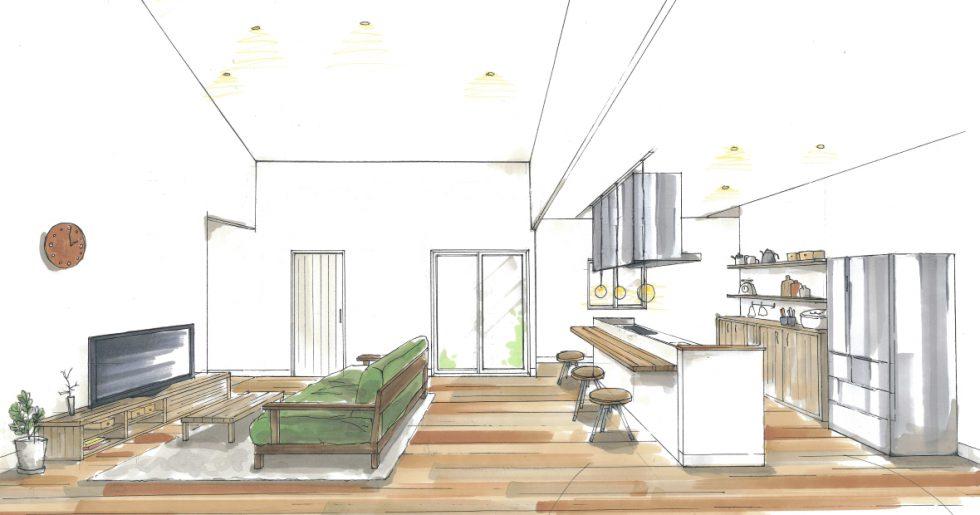 高台に建つスタイリッシュな2階建ての家 新築発表会【鹿児島市】