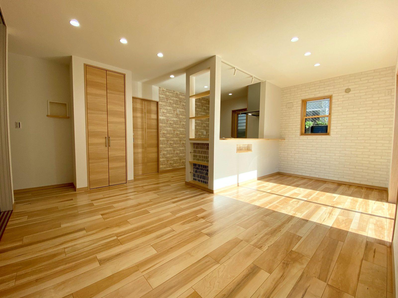 家事を楽しく、効率よくできるラク家事動線のお家 オープンハウス【鹿児島市】