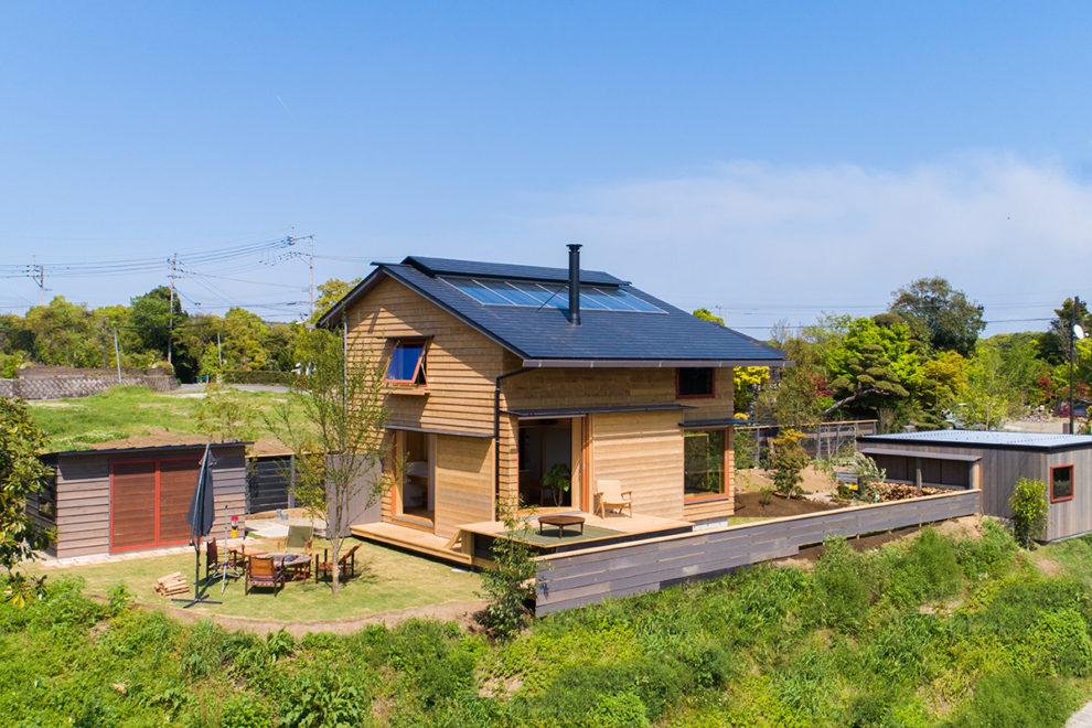 山並みを望む 我が家はキャンプ場 完成見学会 【いちき串木野市】