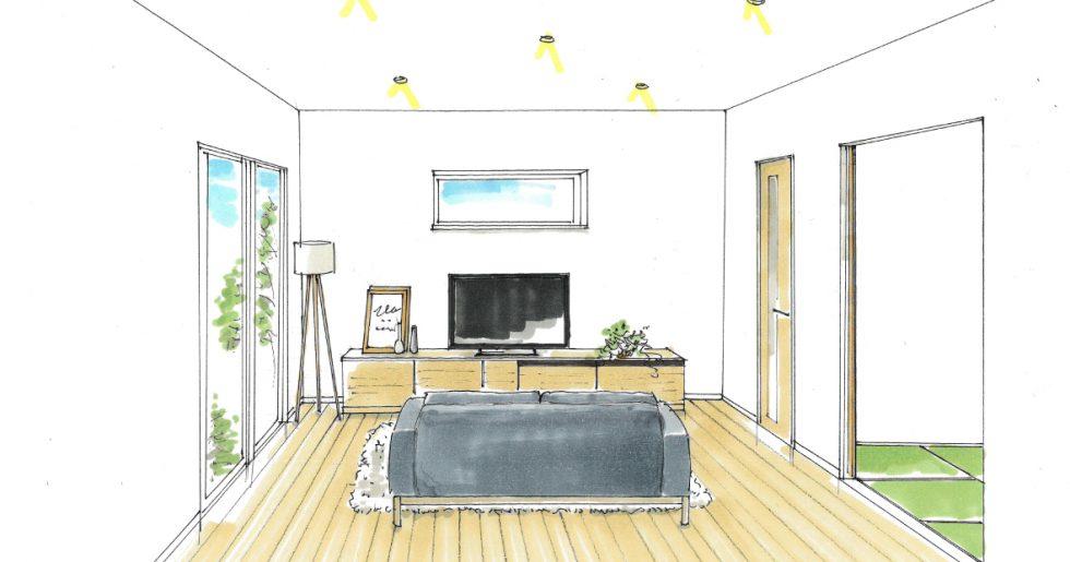 南さつま市加世田で新築発表会 天井高3m50cm!!開放感のある平屋づくり