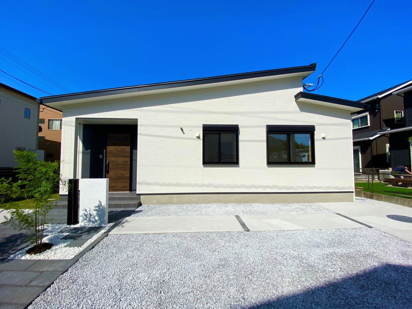 鹿児島市中山町にてオープンハウス 使い勝手の良い回遊動線の平屋建て