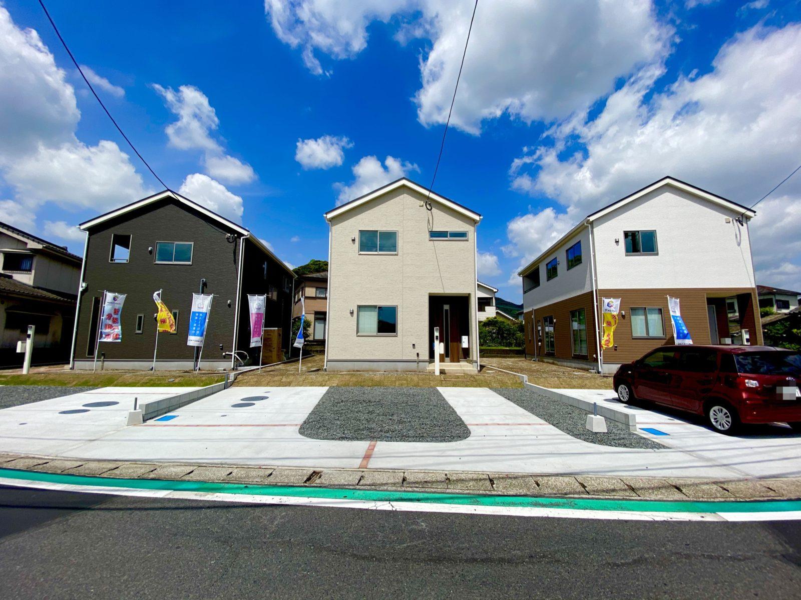 鹿児島市中山町にて3棟同時オープンハウス