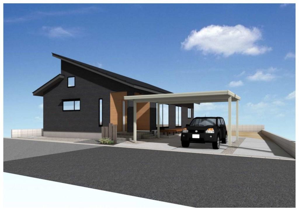 姶良市加治木町で平屋の完成見学会 ロフト付き平屋