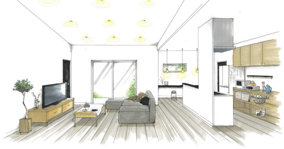 姶良市加治木町で平屋新築発表会 家族の暮らしを考えた大人かわいいお家