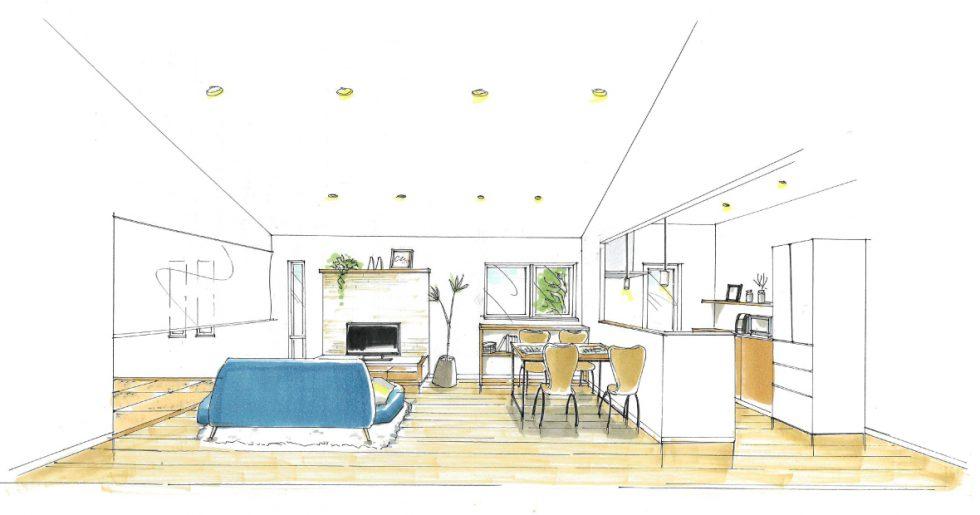 指宿市西方で平屋新築発表会 「使いやすさ」と「収納」にとことんこだわった家。
