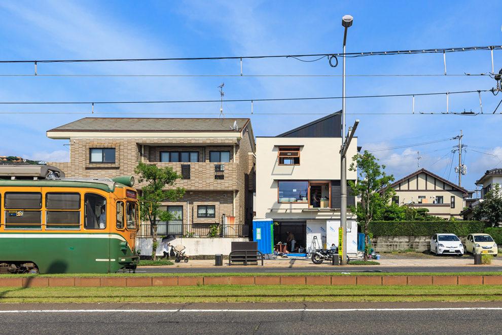 鹿児島市郡元で完成見学会 狭小地19坪で叶えた 暮らしを楽しむ家