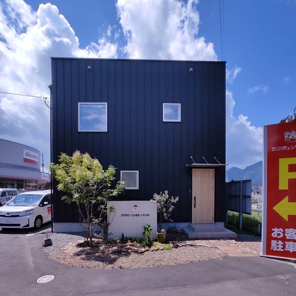 姶良市西餅田で完全予約制常設モデルハウス見学会 ZERO-CUBE+BOXモデルハウス
