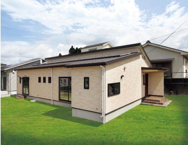 薩摩川内市田崎町で完成見学会 21帖の大空間LDKとタタミコーナーでゆったり♪収納充実!水回り広々!快適&ラク家事な35坪の平屋