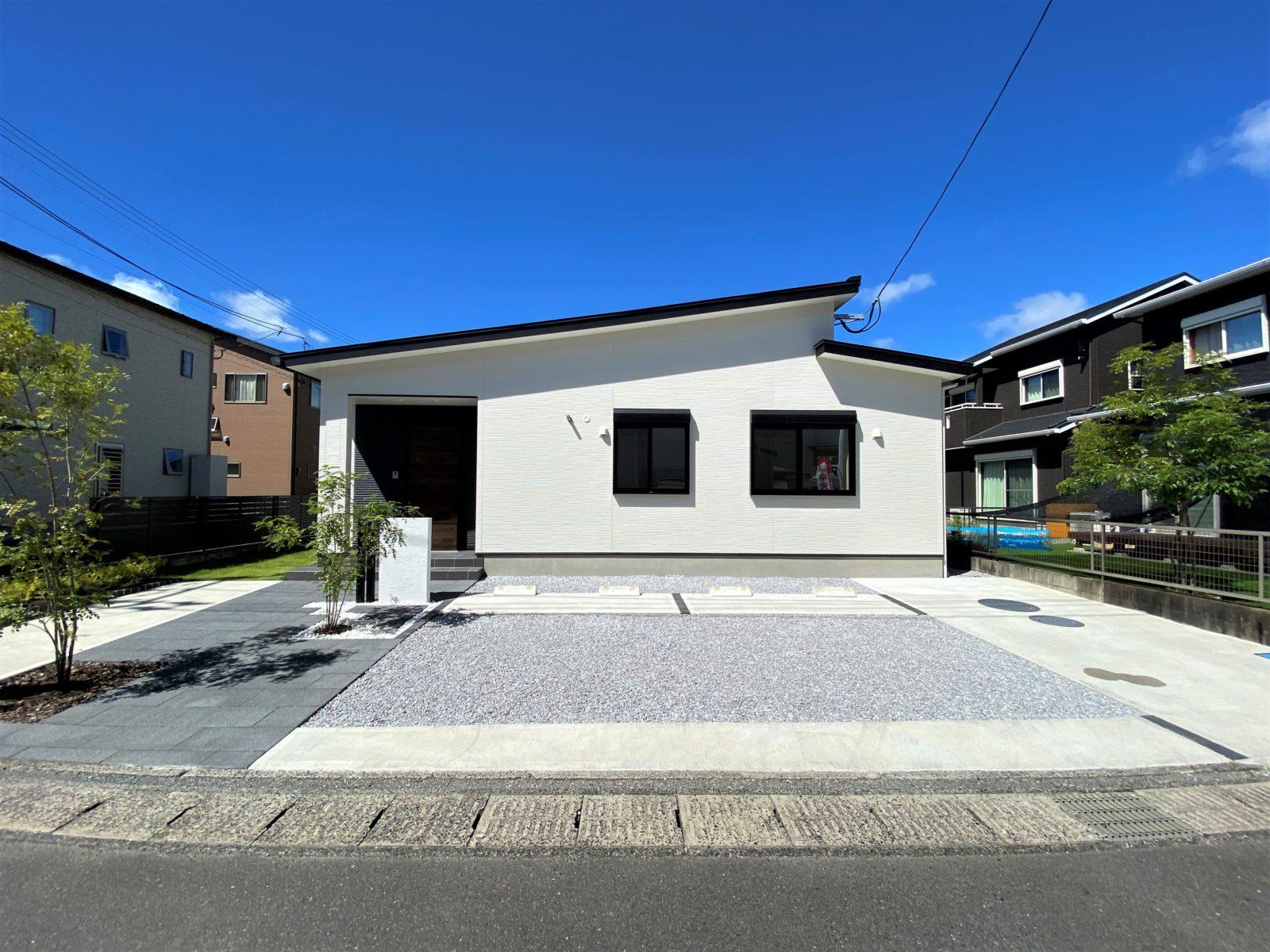 鹿児島市中山で平屋建てオープンハウス 使い勝手の良い回遊動線の平屋建て
