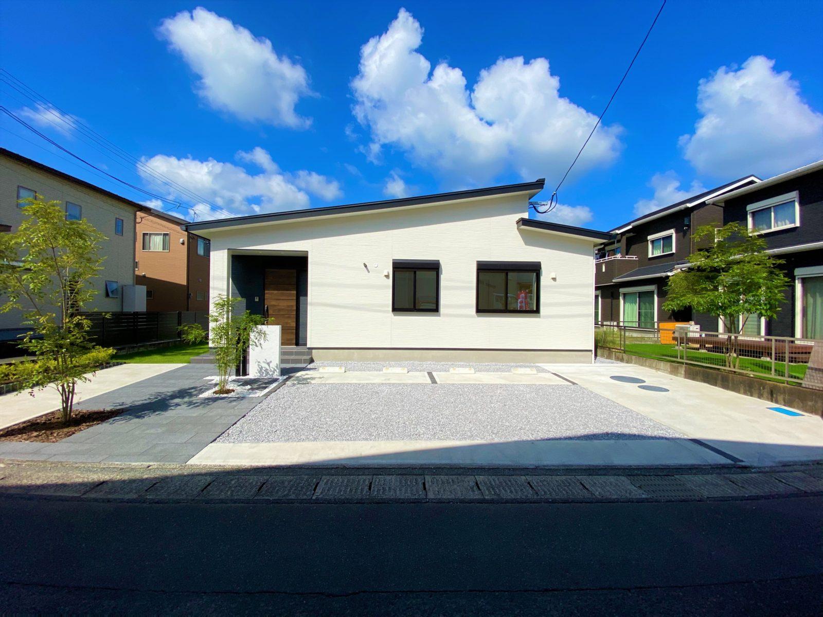 鹿児島市中山町でオープンハウス 使い勝手の良い回遊動線の平屋建て