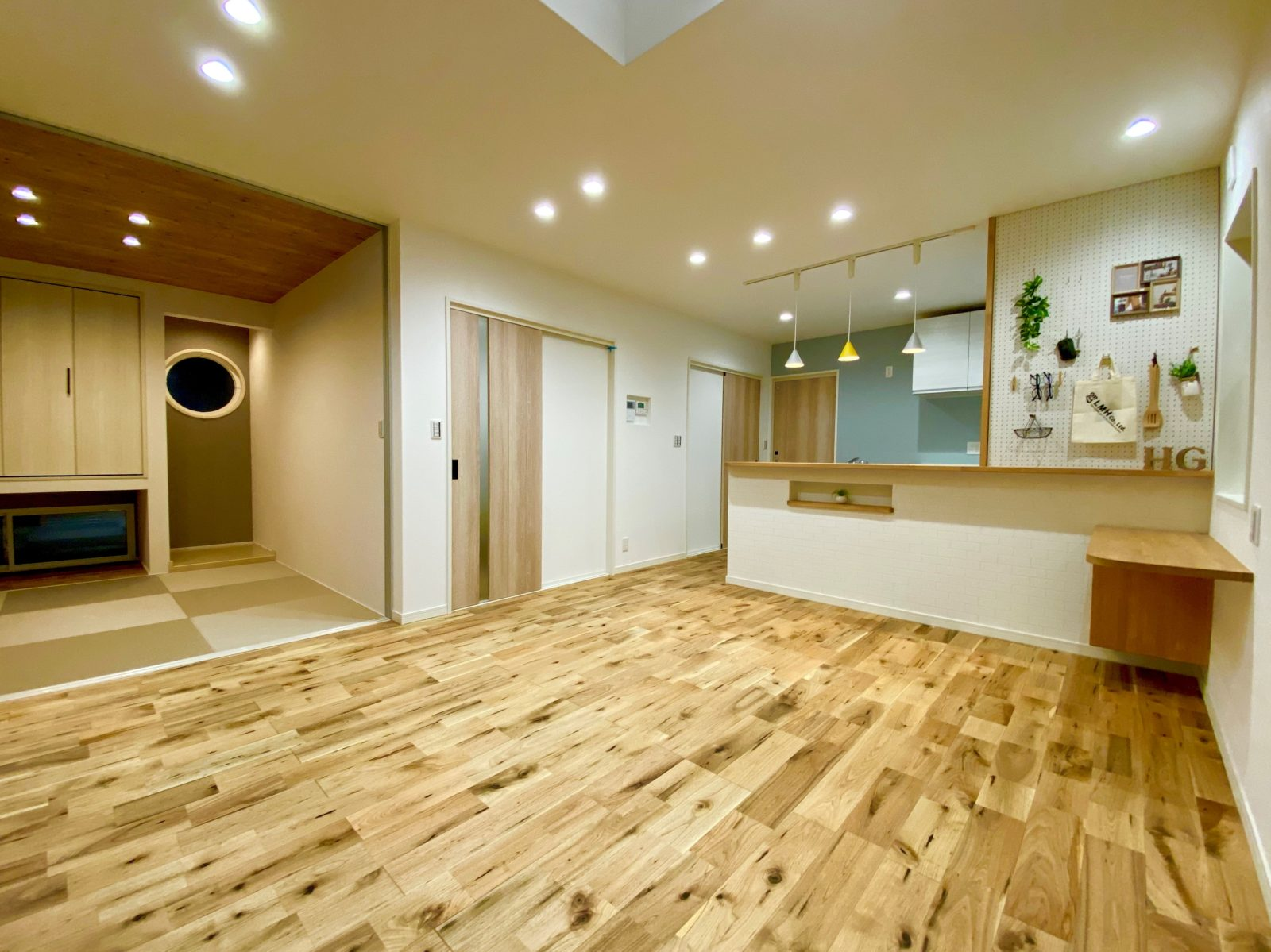 鹿児島市光山でオープンハウス 北欧風デザインの優しい雰囲気のお家