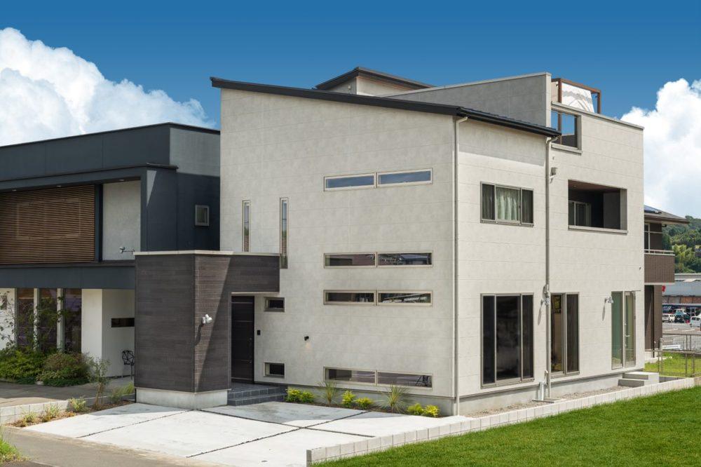 薩摩川内市天辰町で完全予約制見学会 天辰屋上庭園モデルハウス