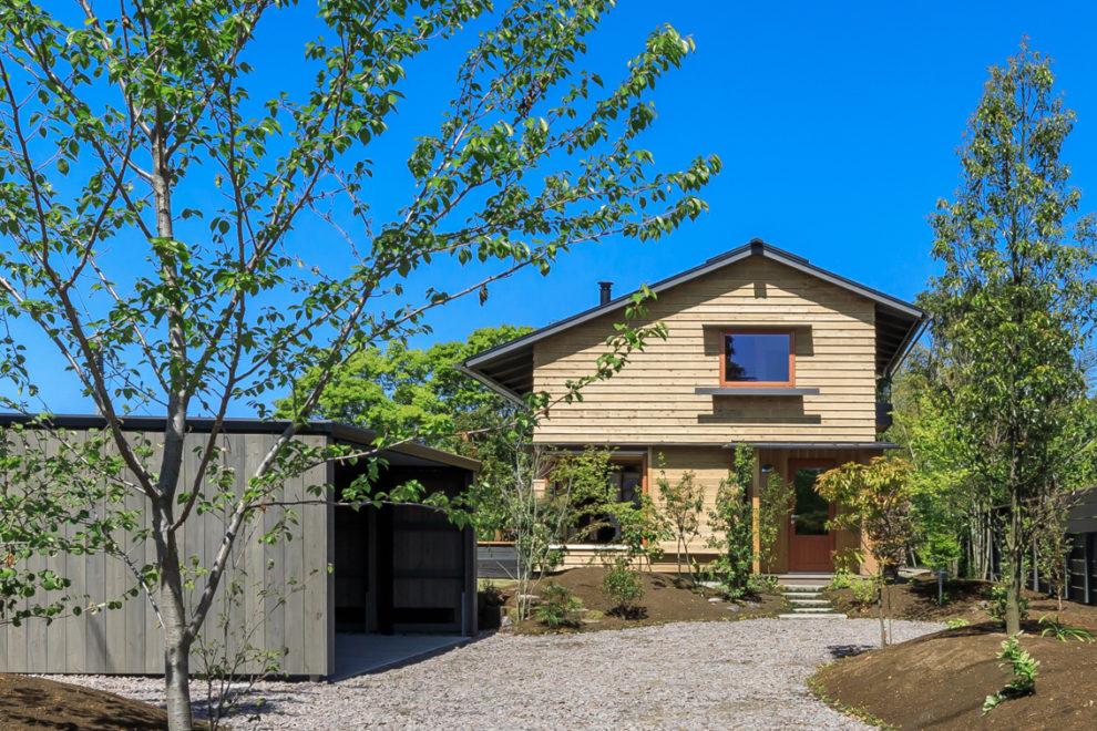 鹿児島市吉野町で完成見学会 雑木林に暮らす 仲間が集う家