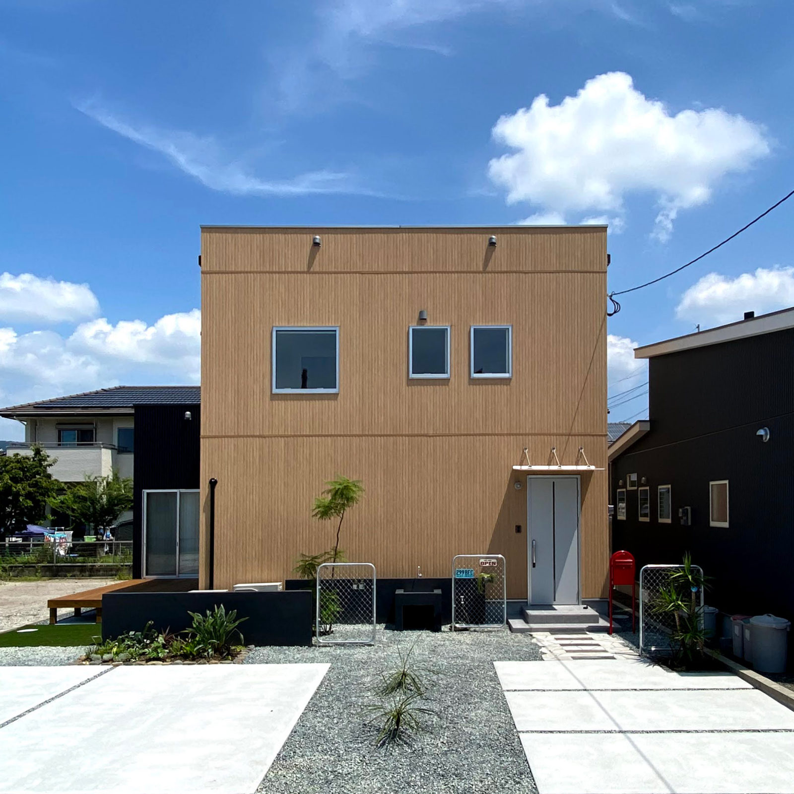 霧島市隼人町 ZERO-CUBE+BOXモデルハウス