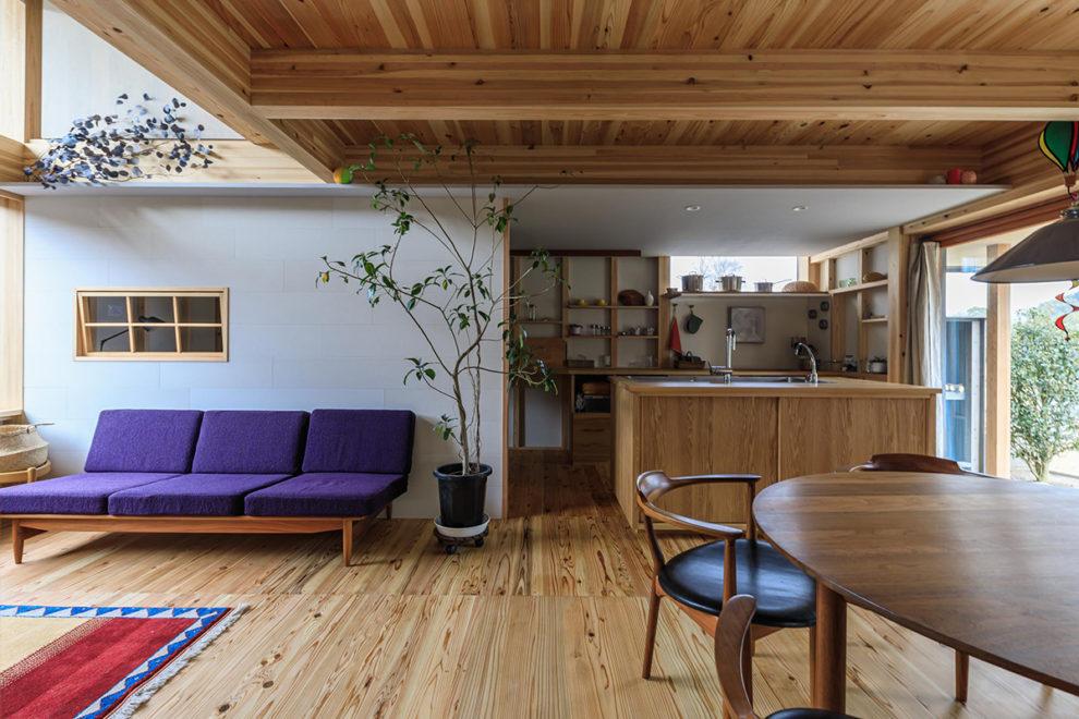姶良市蒲生町で暮らしの見学会 築1年、公園とつながる楽しいわが家