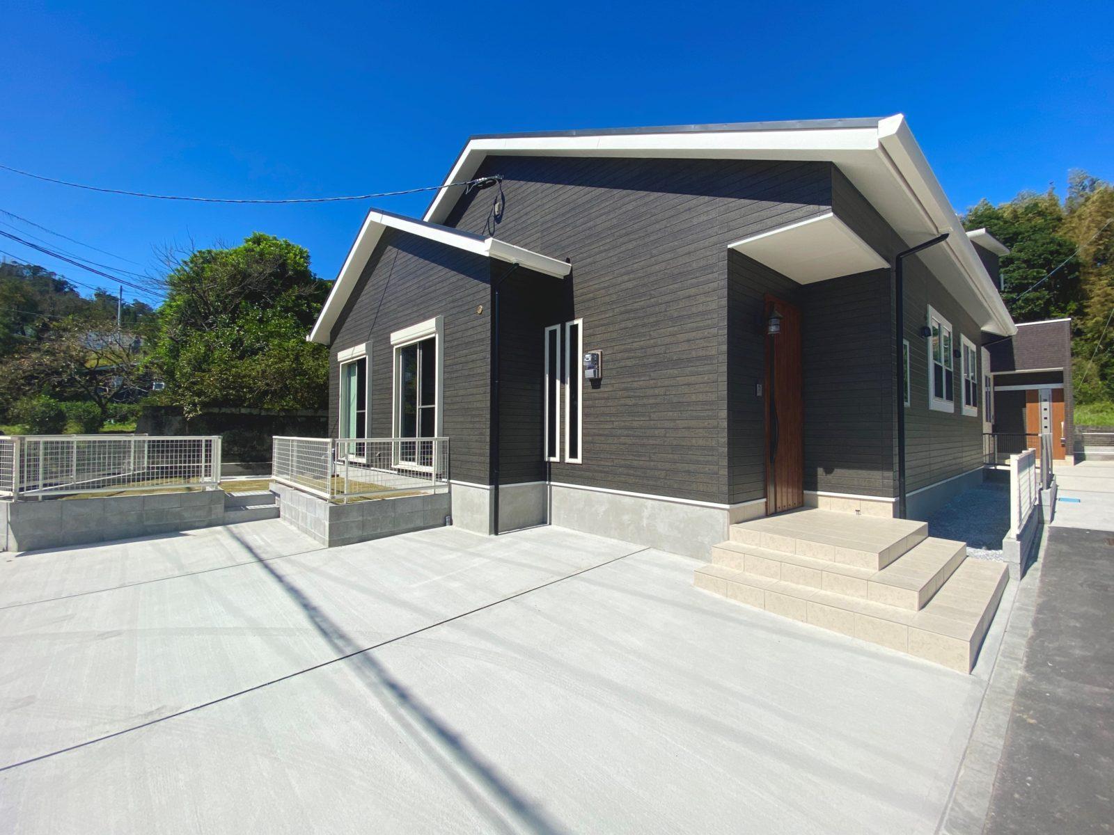 鹿児島市山田町で平屋建てオープンハウス