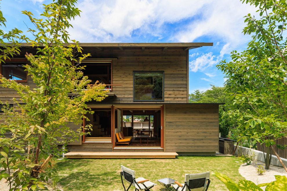 鹿児島市東俣町で完成見学会 土地を受け継ぐ 里山暮らしの家
