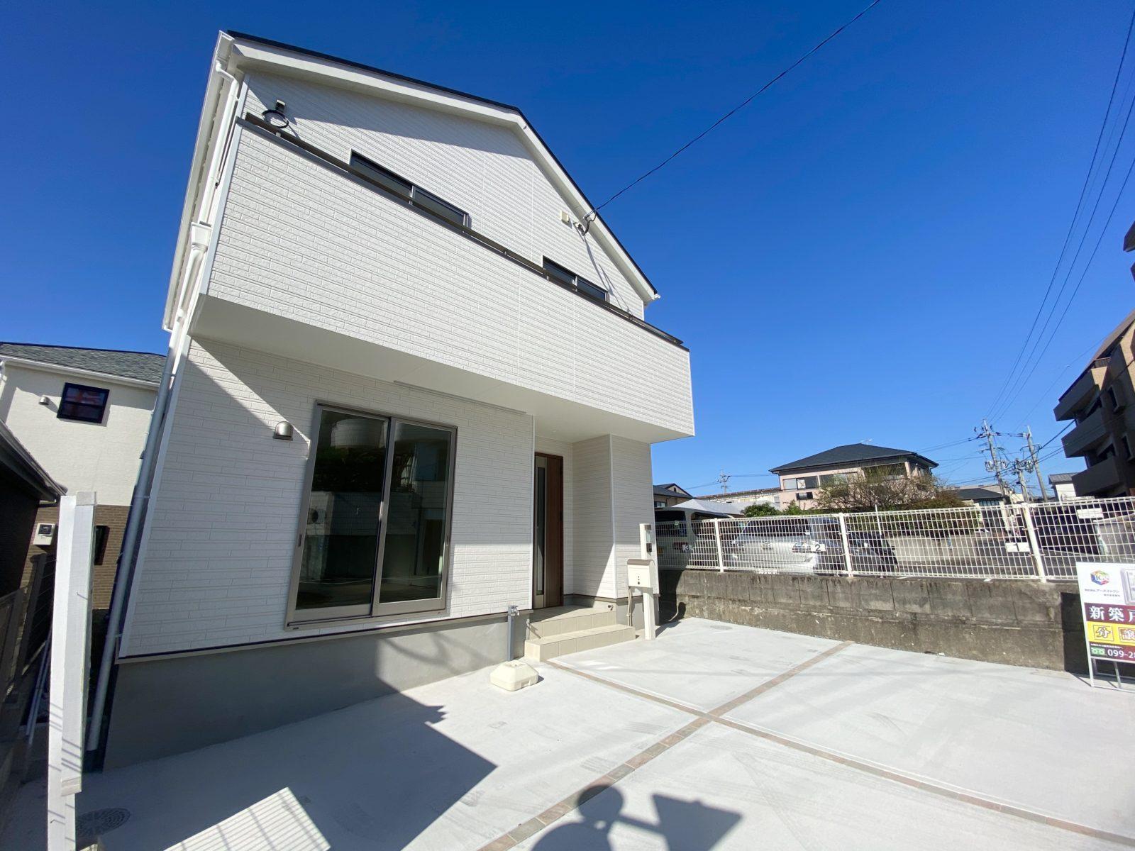鹿児島市紫原で2棟同時オープンハウス