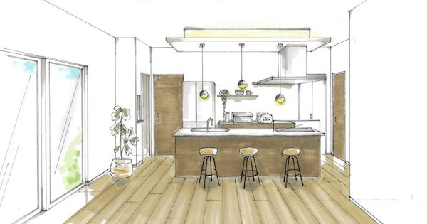 出水市高尾野町で新築発表会 廊下率0%で快適にすごせる平屋の住まい