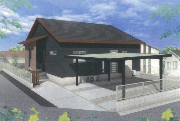 姶良市加治木町で平屋の完成見学会