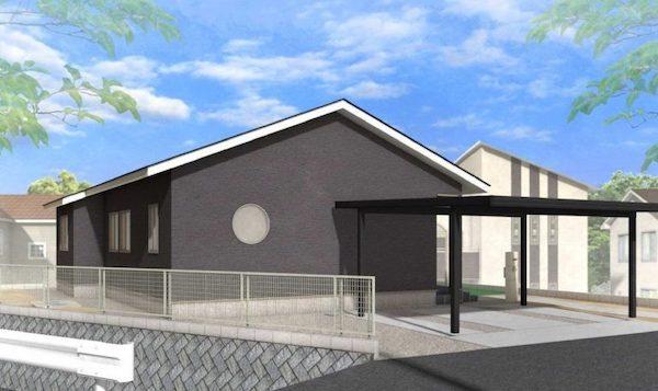 姶良市西餅田で平屋の完成見学会