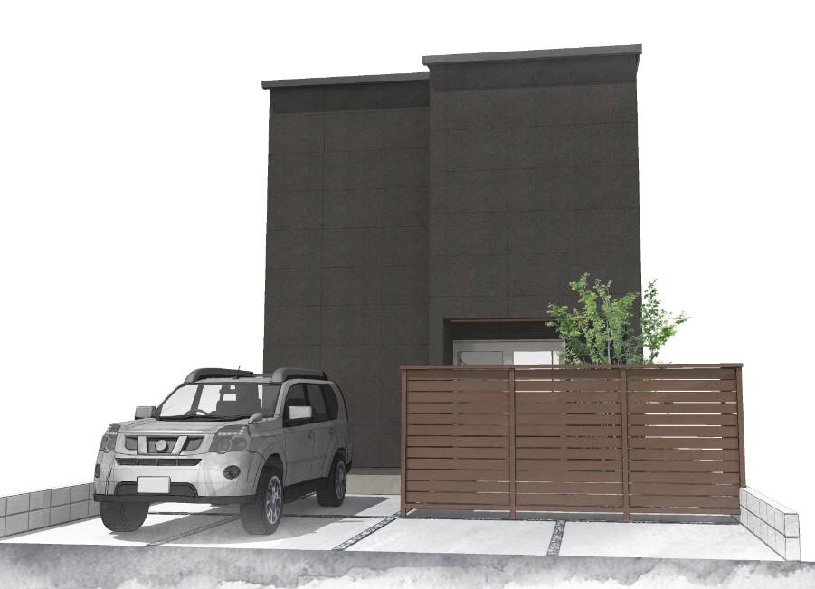 鹿児島市明和で2階建てOPEN HOUSE