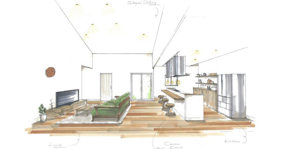 南さつま市加世田で新築発表会 家族が集まる暖かい家