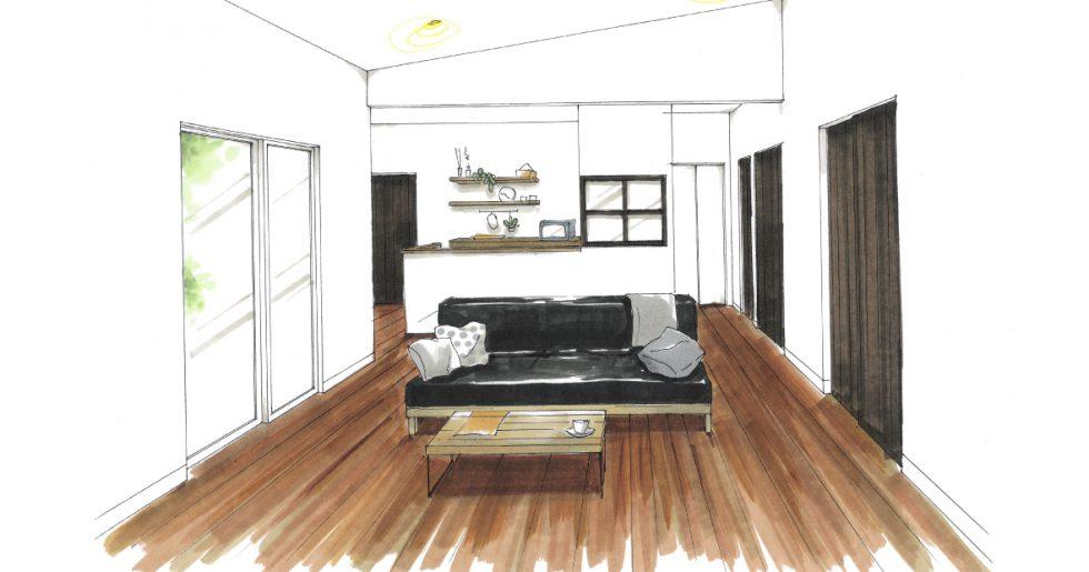 姶良市加治木町で新築発表会 プライベートに配慮したモダン&スマートなお家