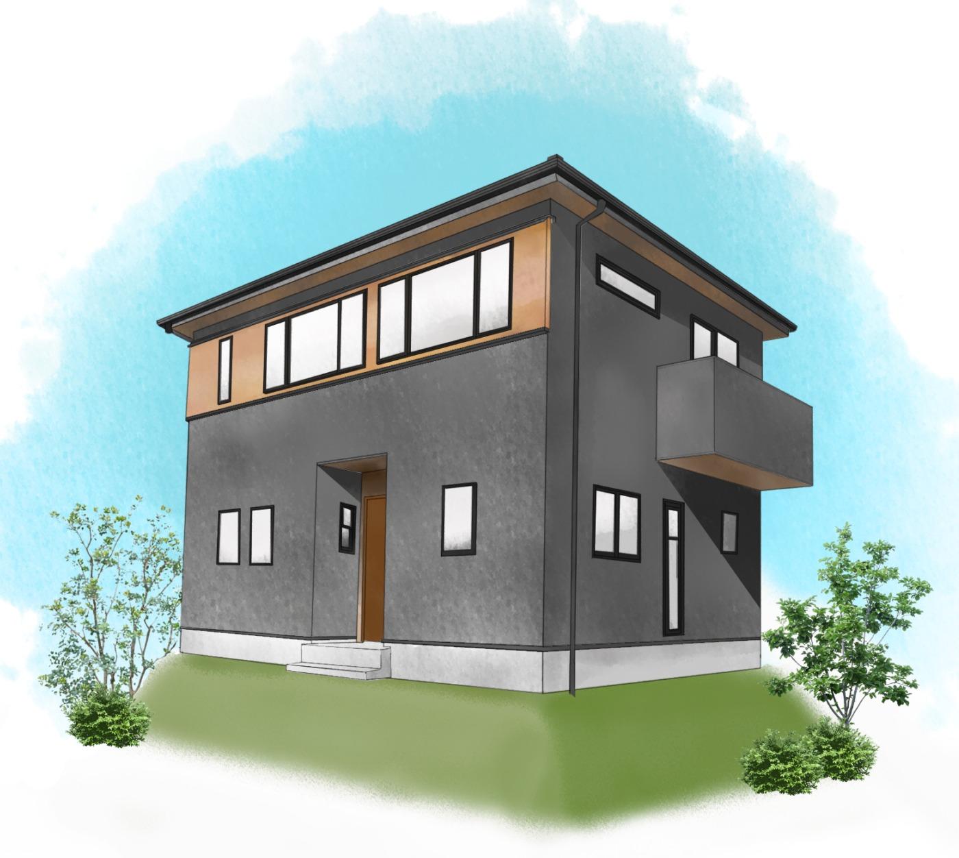 鹿児島市広木2丁目で完成見学会 ソラ・イエ −2階リビングの暮らし−