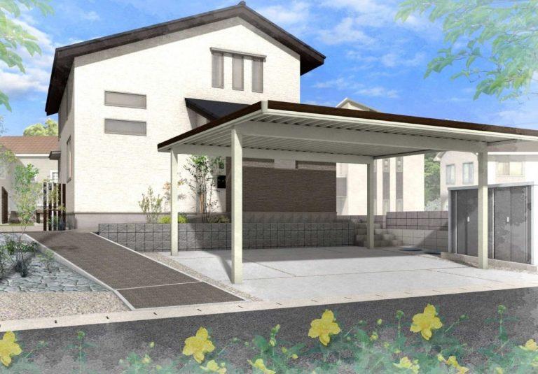 姶良市池島町で2階建ての完成見学会