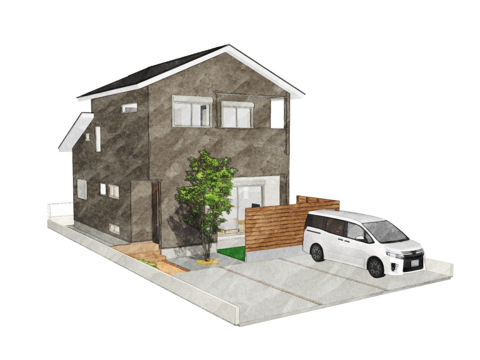 鹿児島市清和4丁目でオープンハウス ラク家事動線と豊富な収納が魅力的なお家