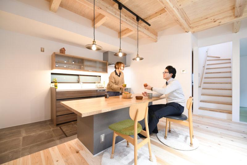 鹿児島市中山で完成見学会 家族みんながリビングに集まる家 ベルハウジング