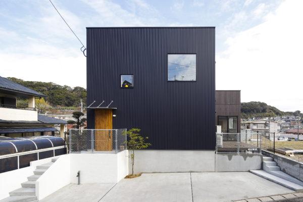 中山バイパス沿い モデルハウス ZERO-CUBE+BOX