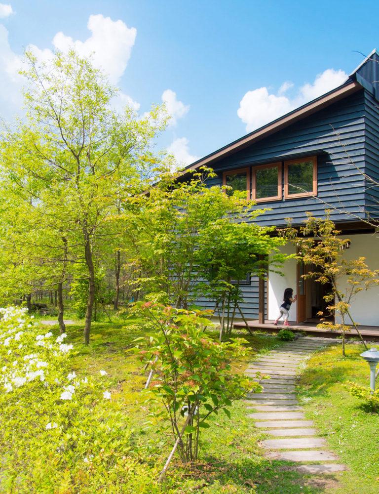鹿児島市油須木町で暮らしの見学会 築7年、ぐうたらお父さんを変えた家   シンケン