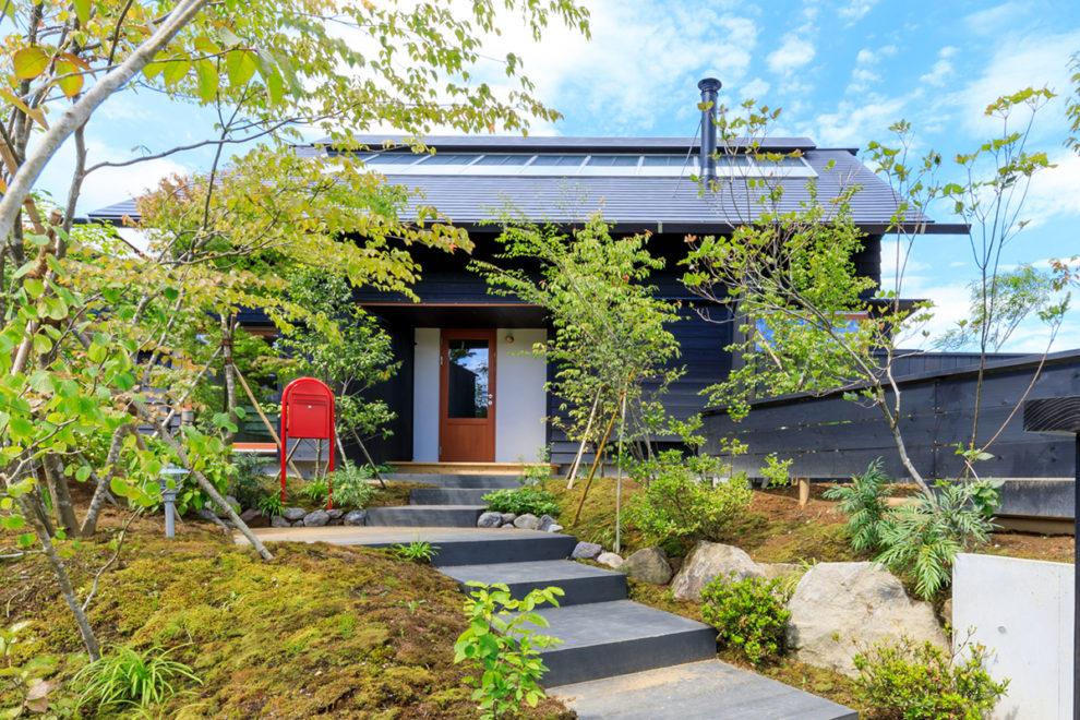 鹿児島市田上台で完成見学会 高台の住宅地 内と外がつながる家 | シンケン