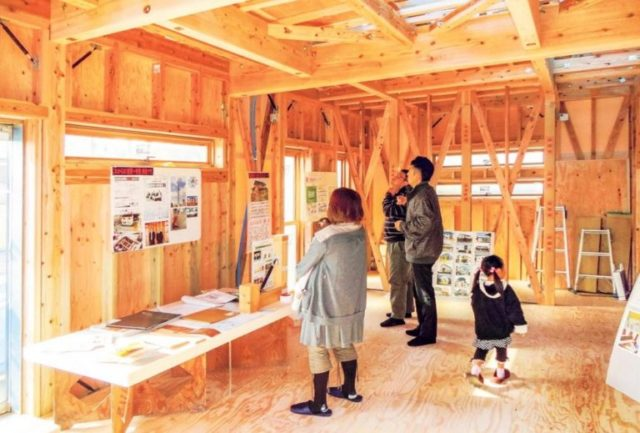 鹿児島市吉野で2階建て注文住宅の構造見学会 4LDK2階建て | 県民住宅