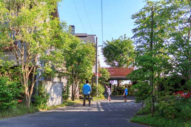鹿屋市王子町で完成見学会 緑豊かな町 シンケンタウン | シンケン