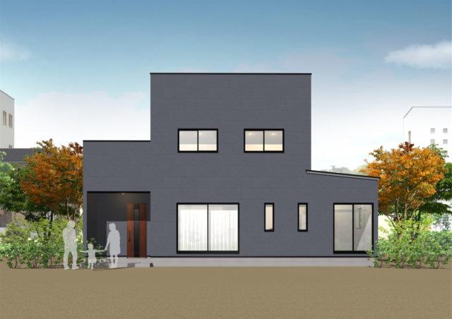 鹿児島市郡山町で完成見学会 3LDK+ファミリークローク+ランドリールーム+インナーガレージ+屋上庭園 | シースタイル