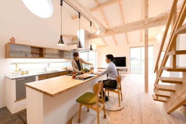 鹿児島市四元町で完成見学会 自然と共に暮らす家 | ベルハウジング