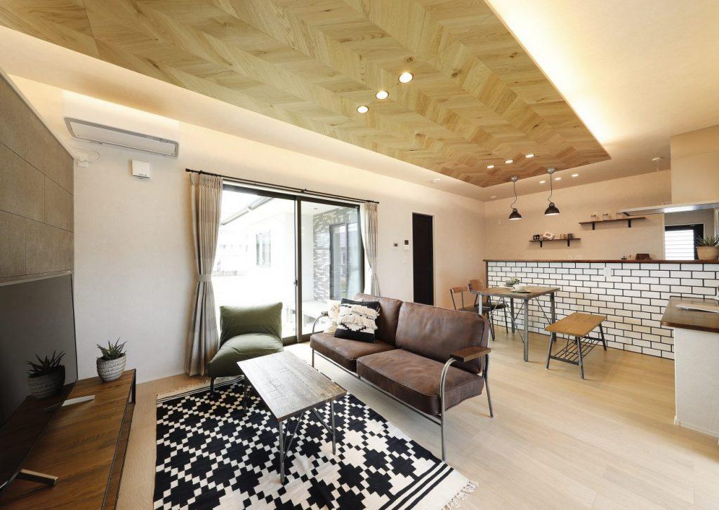 霧島市国分清水で完成見学会 可愛らしいブルックリンスタイルの家 | ヤマサハウス