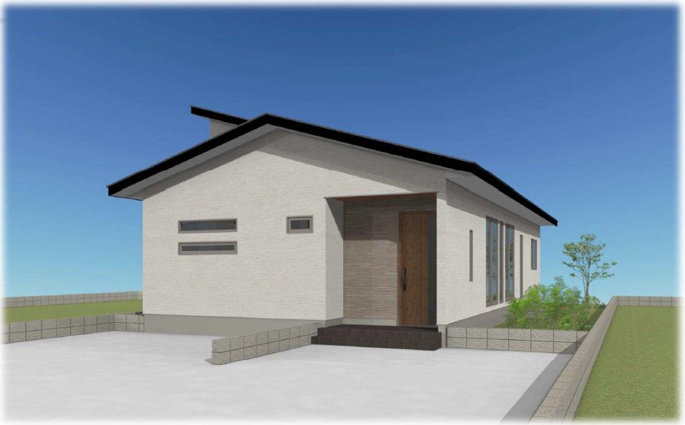 姶良市東餅田で完成見学会 32.06坪平屋 | MBCハウス